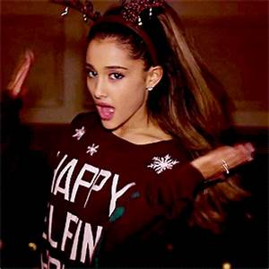 Ariana Grande Santa Tell Me Music Video GIFs | Teen.com