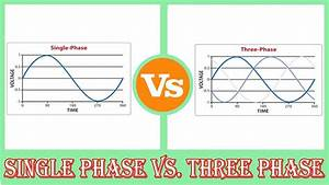 Single Phase Vs Three Phase - Difference Between Single Phase And Three Phase