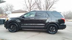 2015 Ford Explorer Black Status Toro 20 U0026quot  Wheels