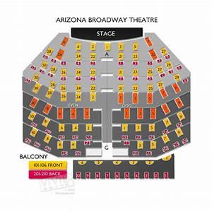 Arizona Broadway Theatre Seating Chart   Vivid Seats