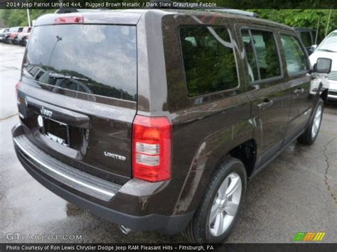 light brown jeep 2014 jeep patriot limited 4x4 in rugged brown metallic