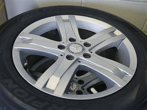 Mercedes Glk 17″ Rims And Pirelli Tires