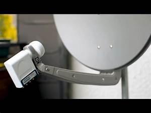 Sat Schüssel Installieren : satelliten anlage richtig montieren youtube ~ Frokenaadalensverden.com Haus und Dekorationen
