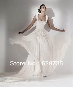 wedding dress photo 2014 new fashion a line wedding dresses chiffon wedding gown manufacturer store in