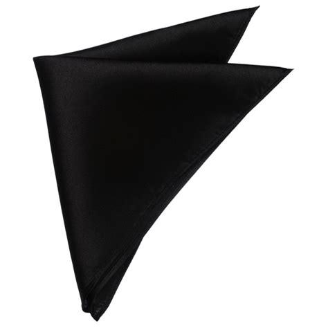 mens black pocket square nz ties