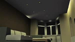 inspiration eclairage led salon et salle a manger delneo With eclairage salon salle a manger