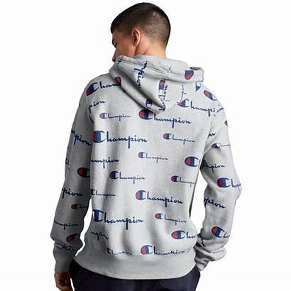 Champion Weave Hoodie Reverse Pullover Hoodies Mens
