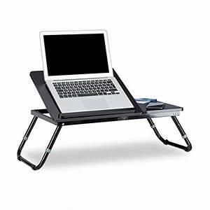 Beistelltisch Für Laptop : relaxdays laptoptisch lapdesk betttisch betttablett notebook tisch beistelltisch laptop bth 60 ~ Markanthonyermac.com Haus und Dekorationen