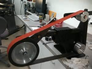 Bench Grinder Variable Speed by 2x72 Belt Grinder Build