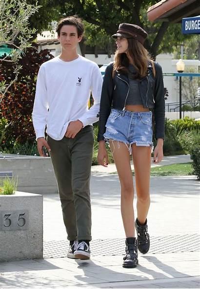 Gerber Kaia Boyfriend Park Malibu Shorts Celebmafia