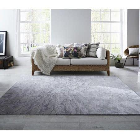 tapis salon moderne gris en laine alpaca suri grey par luxmi