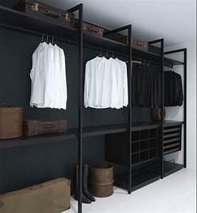 awesome design modern minimalist walk in closet innovative With minimalist closet shelving design ideas