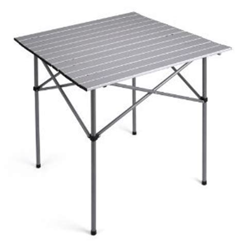 trail unisex aluminium folding table grey co uk sports outdoors