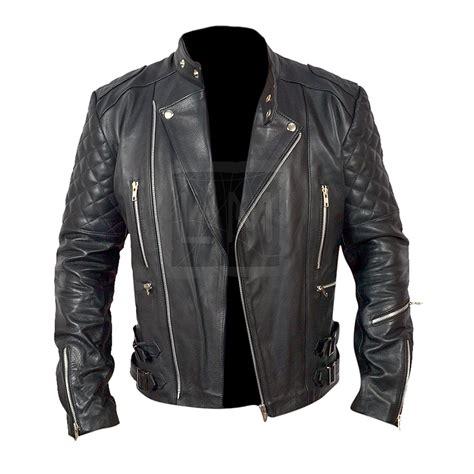 real leather motorcycle jackets brando mens motorcycle biker black genuine leather jacket