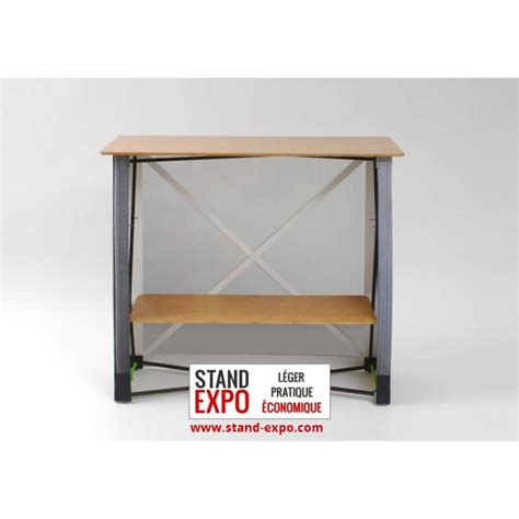 Comptoir Pliable by Comptoir Tissu Rectangulaire Pliable Stand Expo
