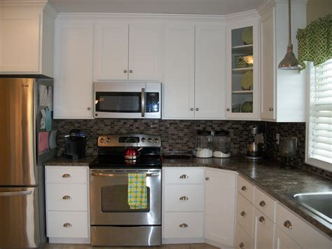 lowes backsplashes for kitchens before and after kitchen our nest is best 7203