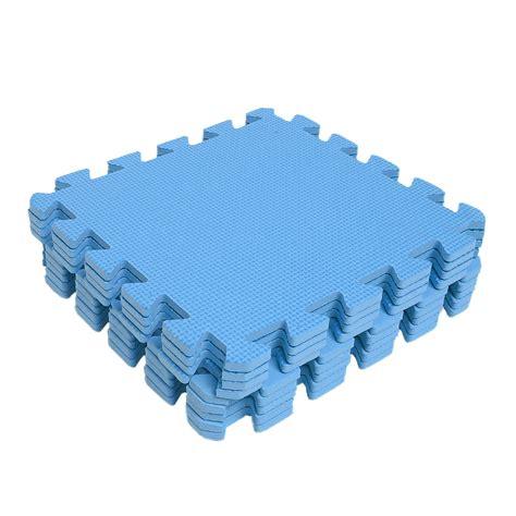 new 9pcs eva foam floor mat exercise gym kids playground