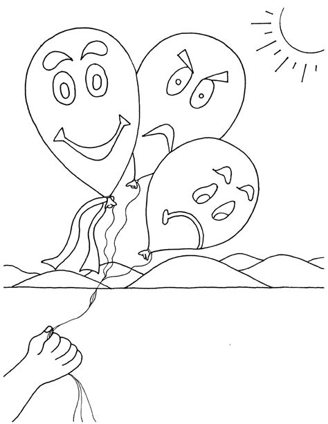 emotions coloring pages  getcoloringscom