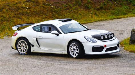 Porsche Cayman Gt4 Clubsport Rally Car Surprises Everyone