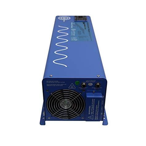 120 volt tankless water heater aims power picoglf40w12v120v 4000w sine inverter