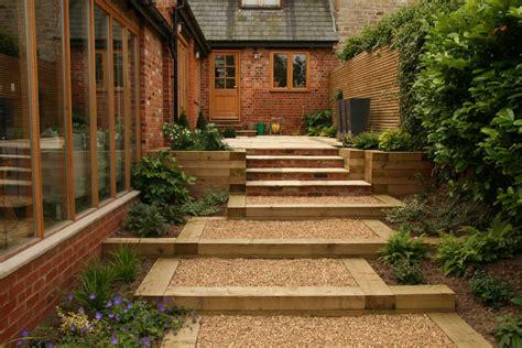 minimalist garden style  beautiful house  garden ideas