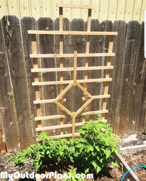 diy trellis myoutdoorplans  woodworking plans
