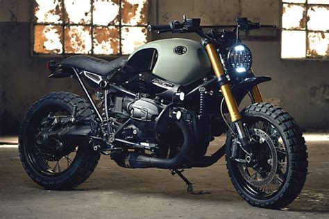 green spains adhoc cafe racers scramble   ninet