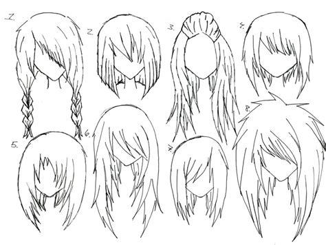 Female Anime Hair By Alicewolfnas On Deviantart