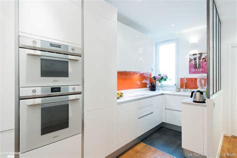 interieur maison cuisine ouverte cuisine en image