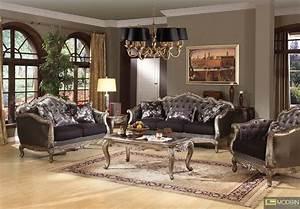 Modern Contempo - French Rococo Luxury Sofa Traditional