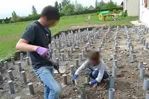 plot pour terrasse bois myqtocom With faire des plots en beton pour terrasse