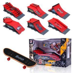 Mini Skate Park Ramp Parts For Tech Deck Fingerboard