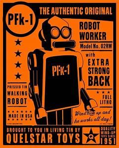 Vintage Robot Art | www.pixshark.com - Images Galleries ...