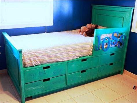 diy storage bed ideas diy storage bed bed