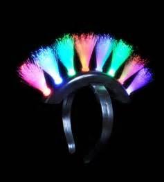 led fiber optic mohawk