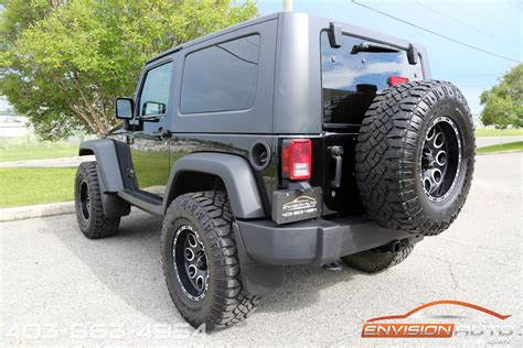 jeep wrangler custom lift winch bumper led lights