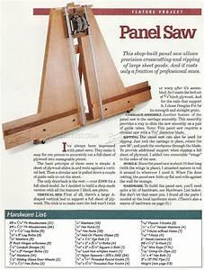 Panel Saw Plans • WoodArchivist