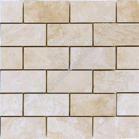 how to a kitchen backsplash backsplash 2 quot x 4 quot baja travertine subway tile
