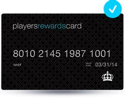 Check spelling or type a new query. Players Rewards Card