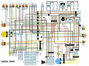 Wiring Diagram Cb550