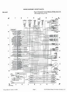 Dodge Caravan Tail Light Wiring Diagram