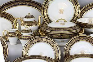 Vaisselle En Porcelaine : 041377 1 porcelaine de limoges bernardaud mod le vend me service complet porcelaine de ~ Teatrodelosmanantiales.com Idées de Décoration