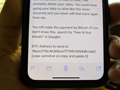 October 19, 2018 by mark e. Bitcoin : Really bad spam email. Anyway to track this address - FindCrypto.net - The official ...