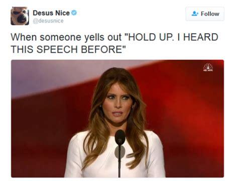 Melania Trump Memes - hilarious melania trump memes donald trump s usually seen and not heard wife melania shattered