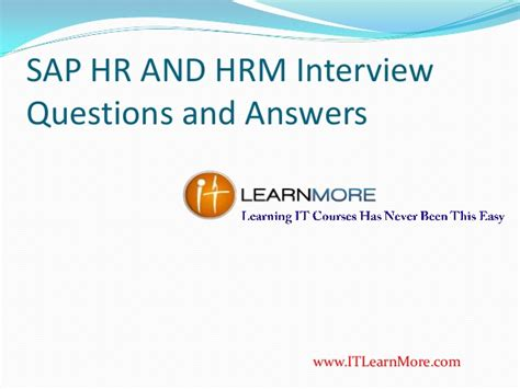 interview for hr position questions and answers sap hr and hcm interview questions