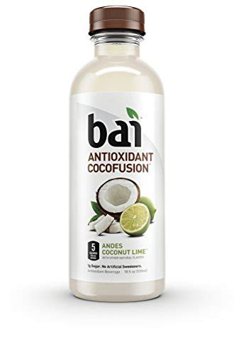buy bai cocofusions andes coconut lime  oz bottle