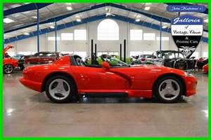 1994 R  T Used 8l V10 Manual Rear Wheel Drive Convertible