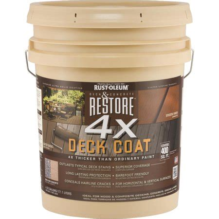 rust oleum restore  concrete wood deck sealer