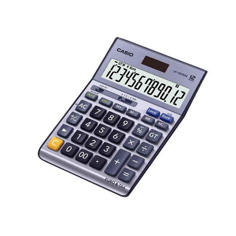 calculatrice de bureau calculatrice de bureau casio df120ter 12 chiffres