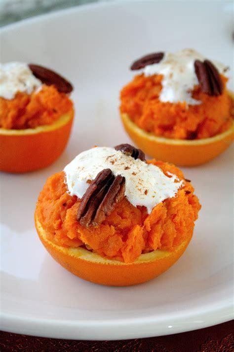 sweet potato orange cups  curvy carrot